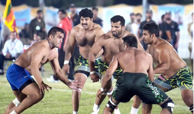 Kabbadi and village games in our region